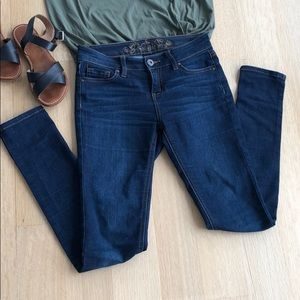 Wax Jeans Mid-rise Skinny Jeans